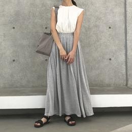 シンプルふんわりロングスカート【クリックポスト対象商品】