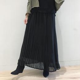 シフォンプリーツロングスカート【クリックポスト対象商品】