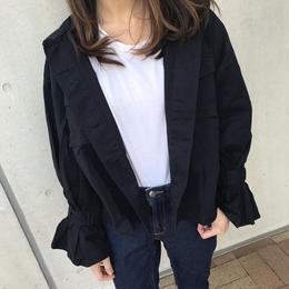 キャンディー袖ミリタリージャケット(2color)【クリックポスト対象商品】