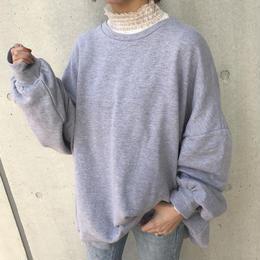 ユニセックス★ゆる可愛いビッグシルエットスウェット(2color)