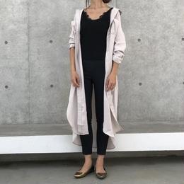 最後の再入荷!裾スリットロングシャツワンピース(3color)【クリックポスト対象商品】
