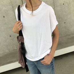 フレンチスリーブビッグTシャツ【クリックポスト対象商品】