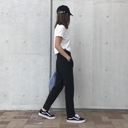 再入荷!裾スリットスウェットロングパンツ(2color)【クリックポスト対象商品】