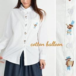 マーチングバンド刺繍シャツ