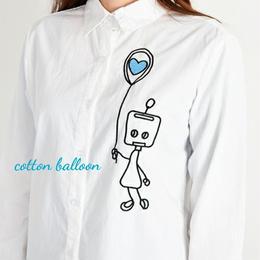 ロボット刺繍シャツ