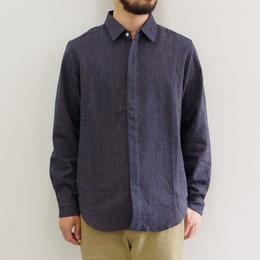 THE HINOKI / 備後節織のストライプシャツ