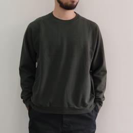 THE HINOKI / オーガニックコットン裏起毛スウェットシャツ