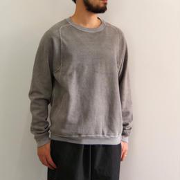 THE HINOKI / オーガニックコットン裏起毛スウェットシャツ / GREY