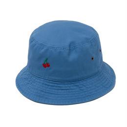 CHERRY BOY BUCKET HAT  (BLUE)【CC18SS-033】