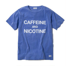 CAFFEINE & NICOTINE TSHIRT (PURPLE)【CC18SS-021】