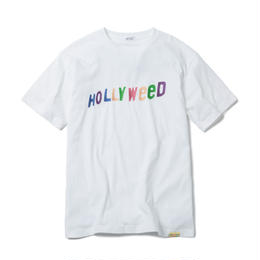 HOLLYWEED TSHIRT  (WHITE) :  GANGSTER DOODLES【CC18SS-031】