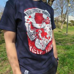 PUNKGIRL T-Shirt《NAVY》