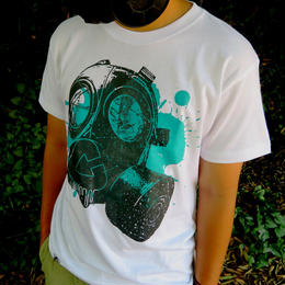 GASMASK T-Shirt【WHITE】