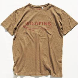 WILD FINS HEMP Tee(BROWN)