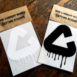 NEW CURRENT WORKS Cutting Sticker
