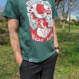 PUNKGIRL T-Shirt《IVYGREEN》