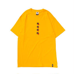 HOOD RICH TEE  YELLOW