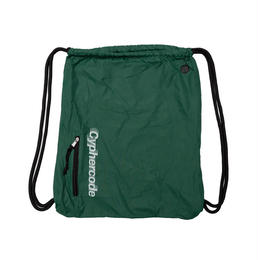 SHADOW LOGO KNAPSACK  GREEN