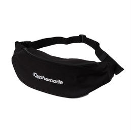 SHADOW LOGO WAISTBAG BLACK