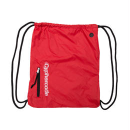 SHADOW LOGO KNAPSACK RED