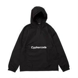 NYLON PULLOVER JACKET  BLACK