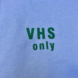 "(SWEAT) shoguntapes × mobiledisco ""VHS only"" SAX BLUE decibel limited color"