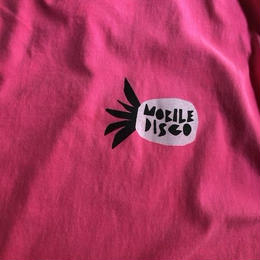 (T-shirts) mobiledisco Pine Soul      neon pink  S / M / L / XL