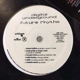 (LP) digital underground / future rhythm  <HIPHOP / RAP/新品未開封>