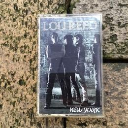 (TAPE) Lou Reed ‎/  New York   <rock>