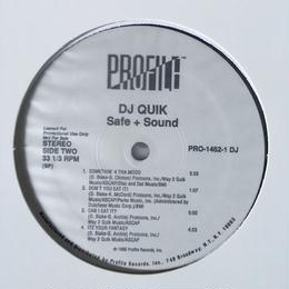 (2LP) DJ QUIK / Safe + Sound   <HIPHOP / G-RAP/新品デッドストック>