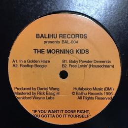 "(12""/ used) Daniel Wang / THE MORNING KIDS  <house>"