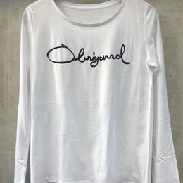 (T-shirts) Obrigarrd logo Long Tee Ladies L