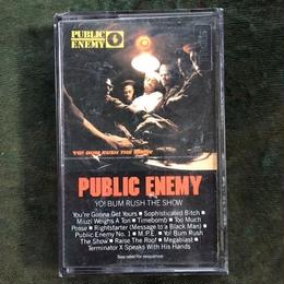 (TAPE) Public Enemy ‎/  Yo! Bum Rush The Show   <HIPHOP / RAP>