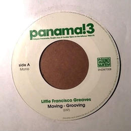 "(7""/used) Little Francisco Greaves / moving grooving    <afro cuba / rare groove >"