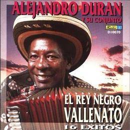 (CD)  ALEJANDRO DURAN Y SU CONJUNTO / EL REY NEGRO VALLENATO               <world / colombia >