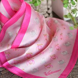 ヴィクトリーナ公式シルクスカーフ
