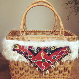 Basket square bag