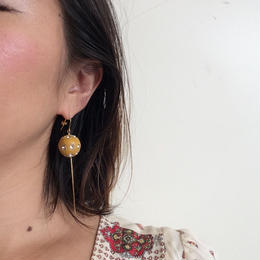 Cray craft beads earrings