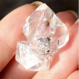 ☆星に願いをセット【夢の種】ハーキマーダイヤモンド大を運ぶトナカイさん☆彡①