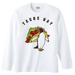 [ロングスリーブTシャツ] tacos day