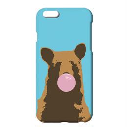 送料無料 [iPhone ケース] 風船ガム / Bear