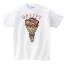[キッズTシャツ]  creepy flower