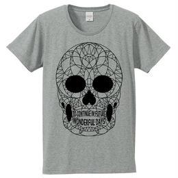 [Tシャツ] THE SKULL / Gray