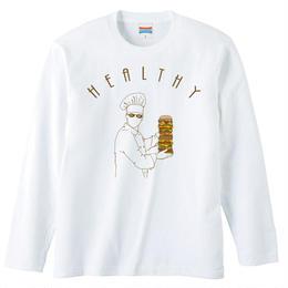 [ロングスリーブTシャツ] Healthy
