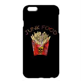 送料無料 [iPhone ケース] French fries  / Black