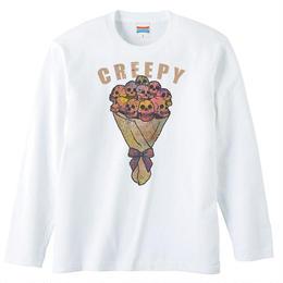 [ロングスリーブTシャツ] creepy flower