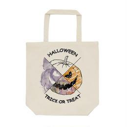 送料無料 [トートバッグ] Halloween pumpkin