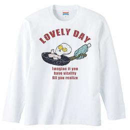[ロングスリーブTシャツ] Lovely day