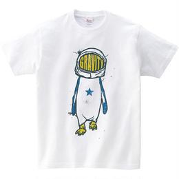 [キッズTシャツ]  Gravity Penguin