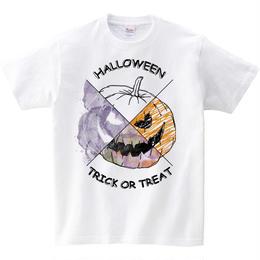 [キッズTシャツ]  Halloween pumpkin